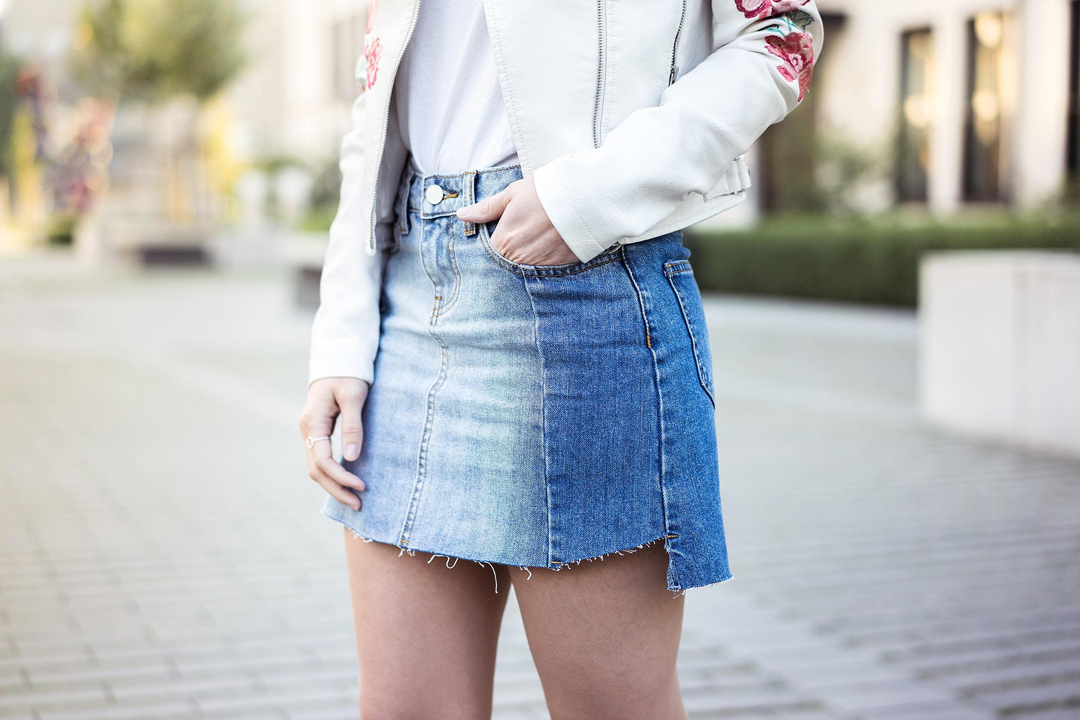 Vokuhila Rock Jeans Springlook Detail Sunnyinga Fashionblog