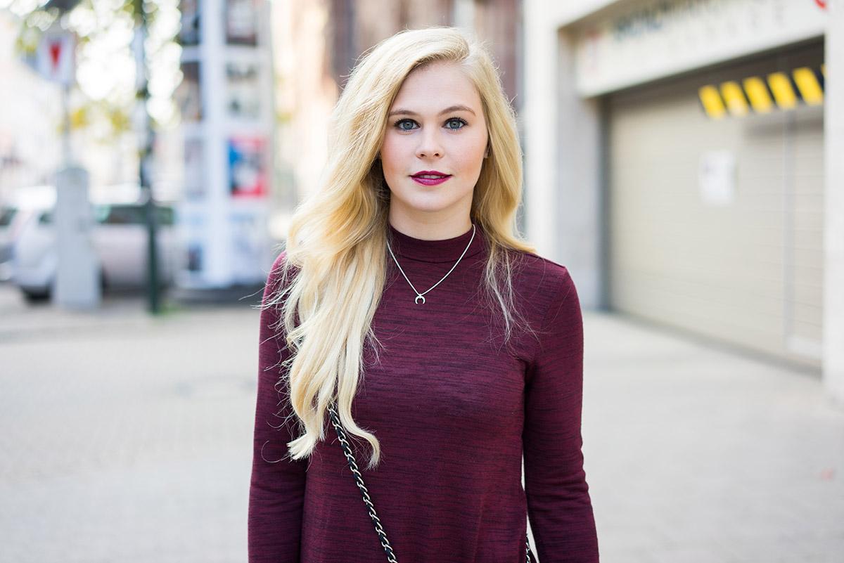 Winterkleid Rot